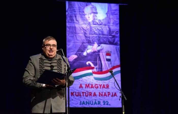 Karaffa Attila köszöntője a Magyar Kultúra Napján