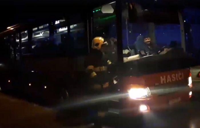 Evakuálni kellett a társasház lakóit - VIDEÓ