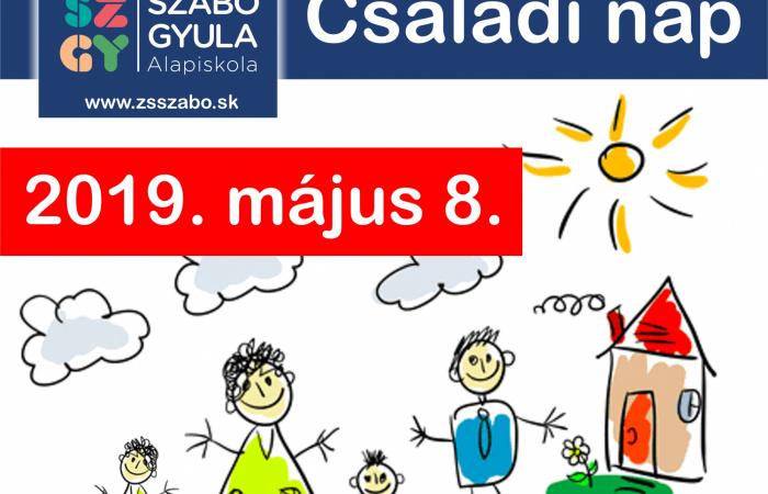 Családi nap a Szabó Gyula Alapiskolában