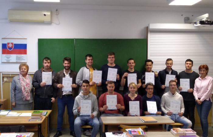 Érettségi- és ECDL-bizonyítványosztás a Szabó Gyula 21 Szakközépiskolában