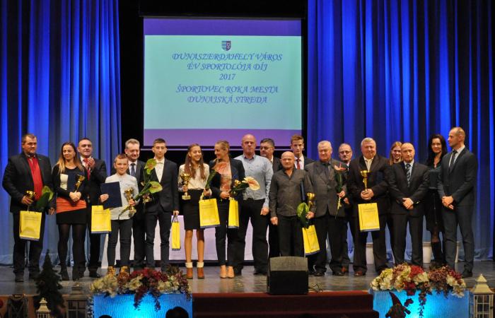 Március végén adját át a tavalyi év legjobb dunaszerdahelyi sportolóinak díjait