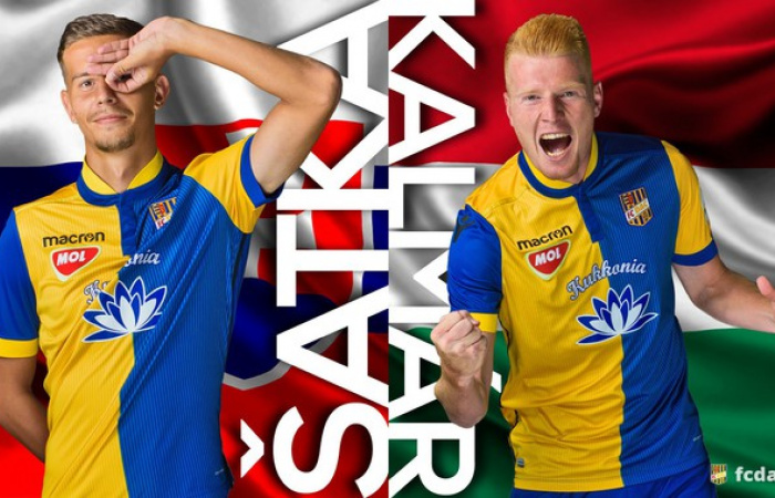 Kalmár és Šatka: Bárhogy is végződik, a meccs után mezt cserélünk
