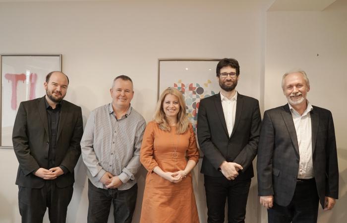 Čaputovával találkozott a Kerekasztal küldöttsége