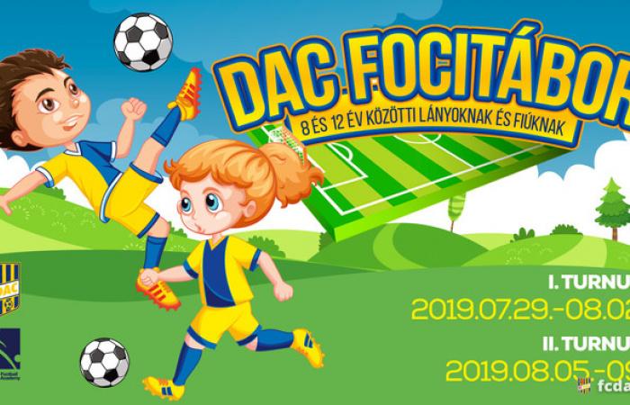 Idén nyáron is DAC Focitábor!