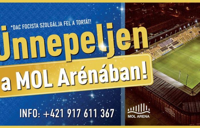Ünnepeljen és bulizzon az ikonikus MOL Arénában!