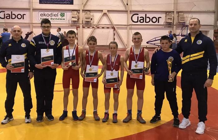 Négy arany a szlovák bajnokságról