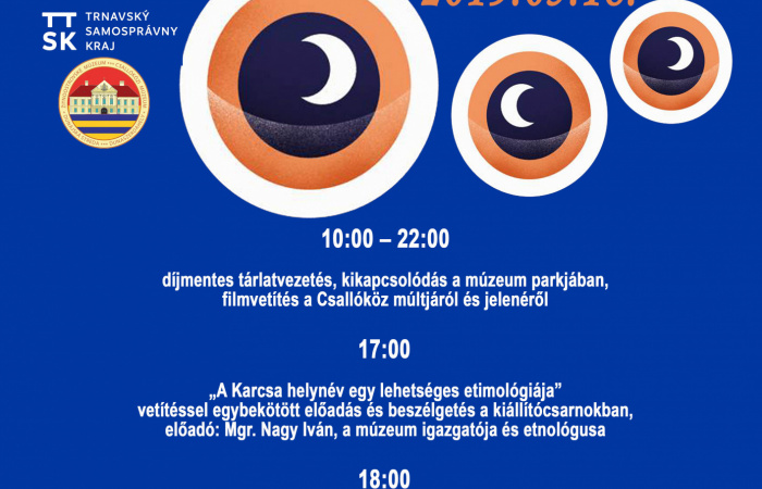 Múzeumok és galériák éjszakája Dunaszerdahelyen is