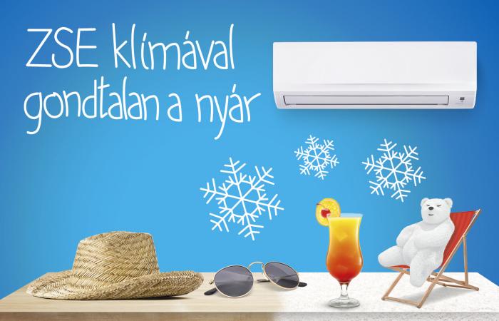 Gondtalan nyár ZSE klímával már havi 35 eurótól örökös karbantartással