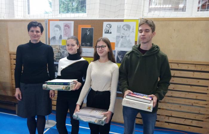 Ady Endre irodalmi verseny a Vámbéry Ármin Gimnáziumban