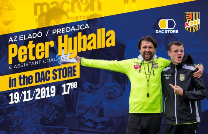 Vásárolj Peter Hyballától és stábjától!
