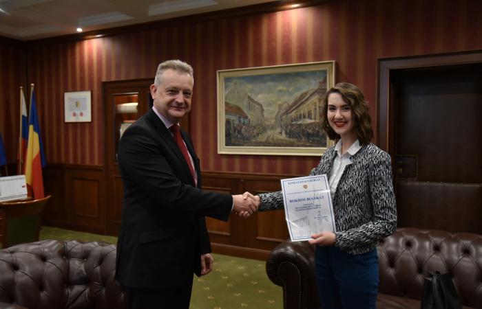 Átvette kinevezését az új diákpolgármester