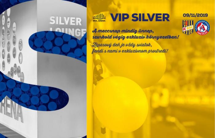 VIP Silver menü a DAC-Trencsén bajnokira