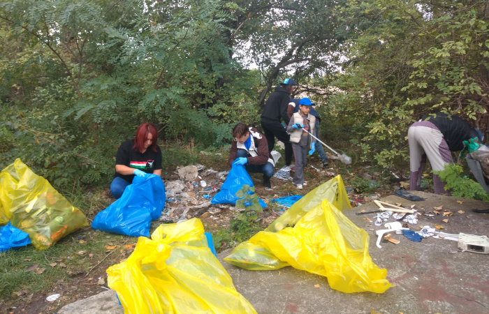 Önkéntesek tisztították meg a város több pontját