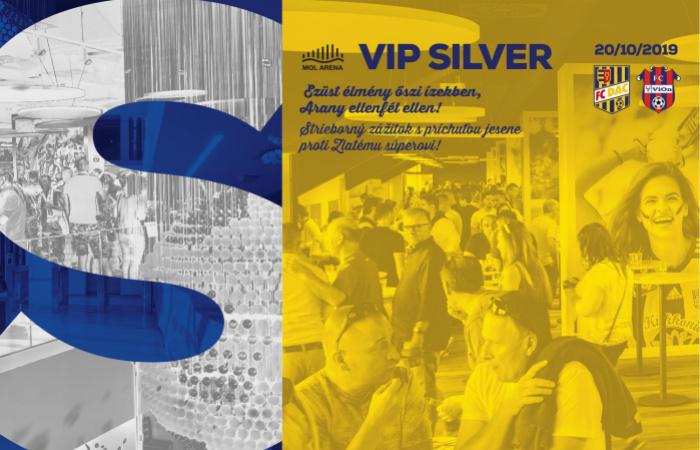 VIP Silver menü a DAC-Aranyosmarót bajnokira