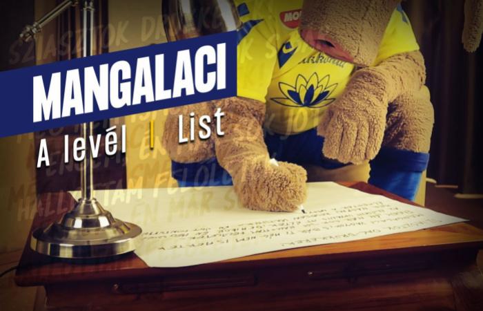 Videó: Mangalaci levelet ír