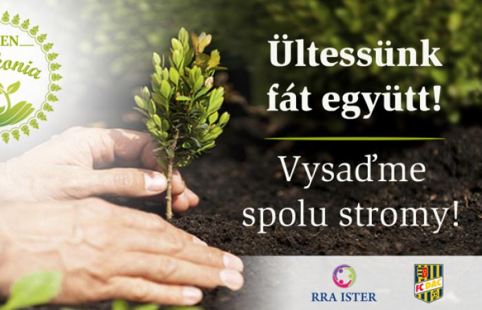Ültessünk fát együtt!