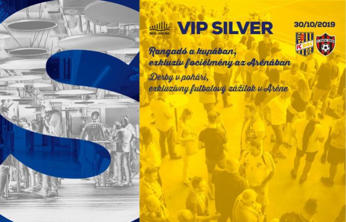 VIP Silver menü a DAC-Nagyszombat kupamérkőzésre