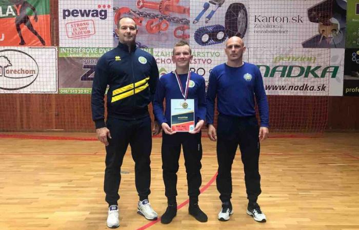 Bazsó Marek szlovák bajnok!