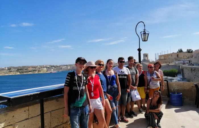 Dunaszerdahelyiek tanultak Máltán