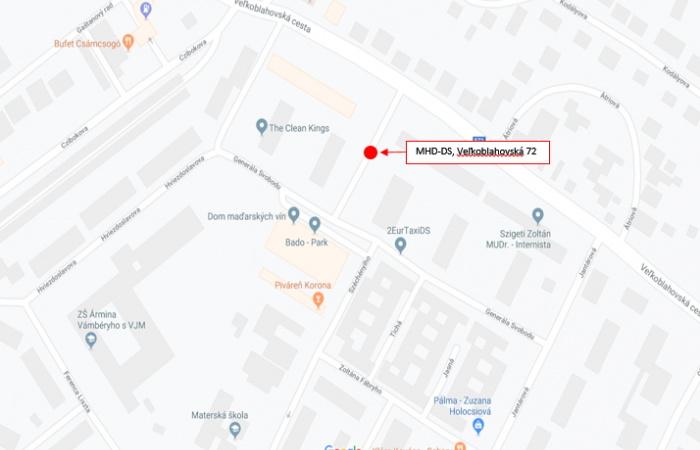 Új helyre került a Vámbéry alapiskola melletti buszmegálló