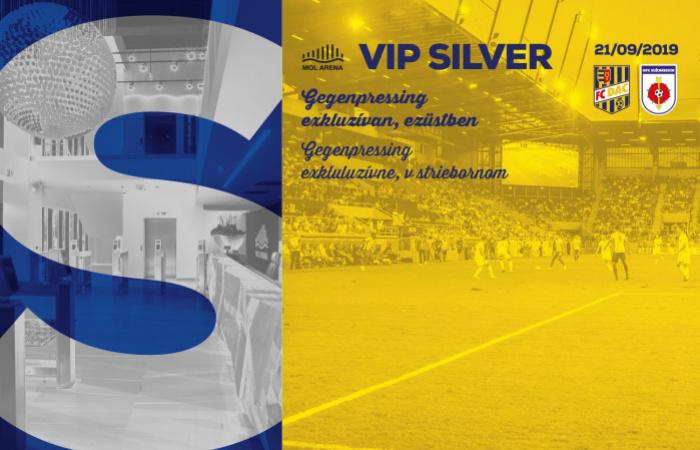 VIP Silver menü a DAC-Rózsahegy bajnokira