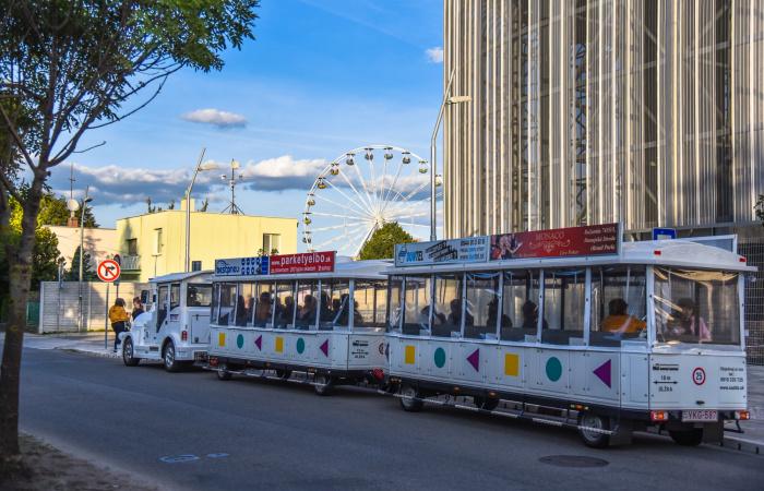 A városi kisvonat menetrendje a Csallóközi Vásárban