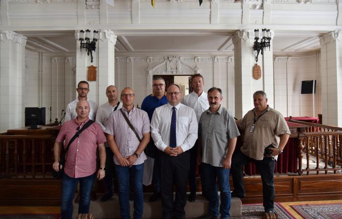 Városunk delegációja járt Újpesten