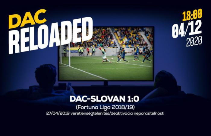 Újratöltve! a tavalyi DAC-Slovan (1:0) mérkőzés