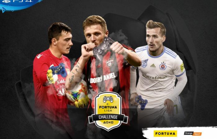 A hétvégén e-Fortuna Liga Challenge Martin Jedličkával