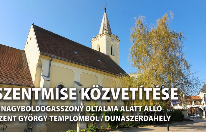 Itt lehet majd követni vasárnap a szentmisét