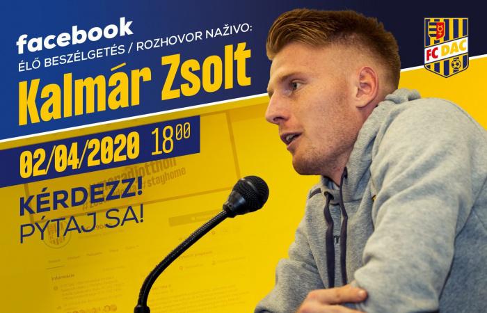 Élő online chat a Facebookon Kalmár Zsolttal