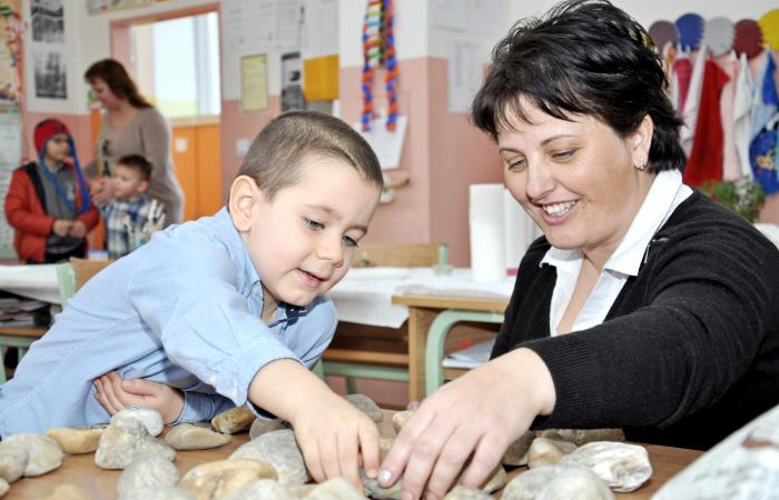 Beiratkozás az alapiskola első évfolyamába