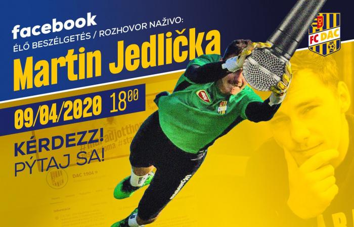 Élő online beszélgetés Martin Jedličkával