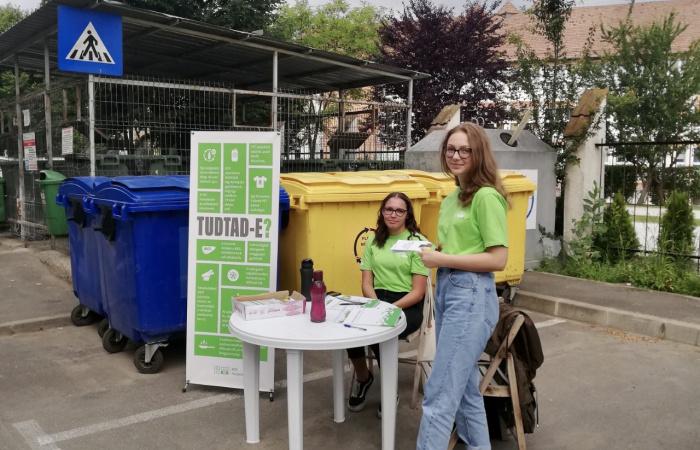 Tamara és önkéntesek segítik, hogy legyen mindenki válogatós