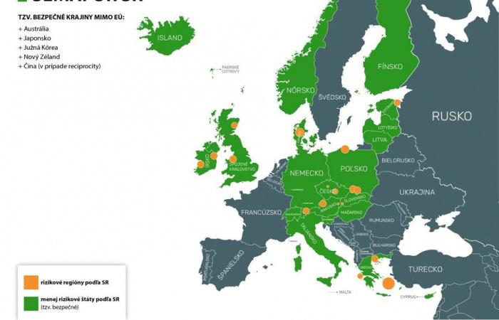 Bővül a vörös besorolású országok listája