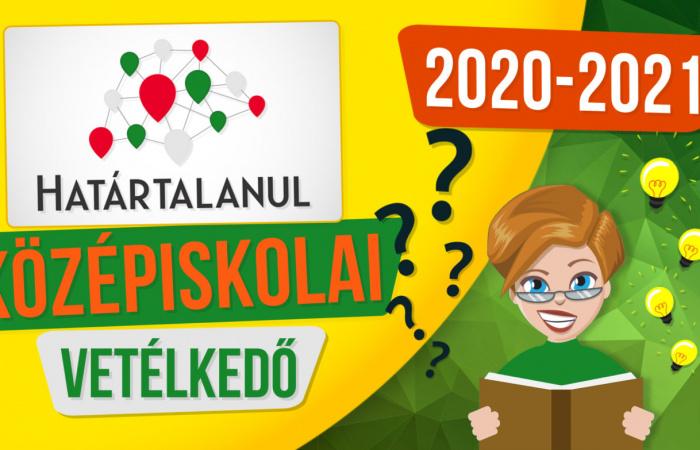 Elindult a Határtalanul középiskolai vetélkedő 2020/2021