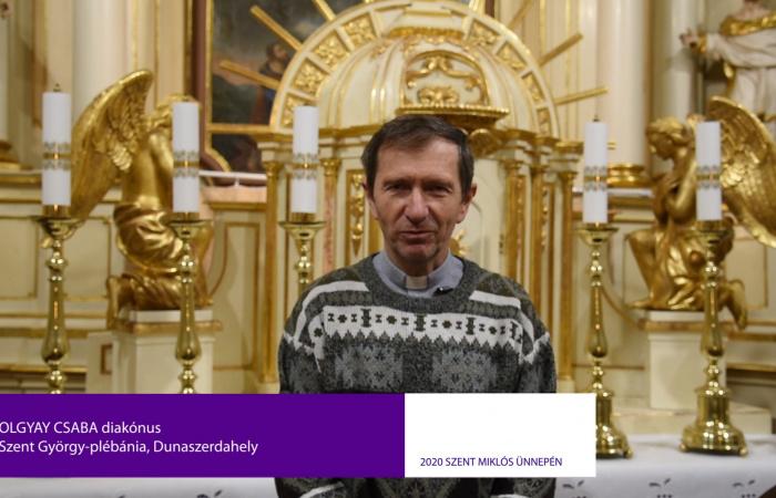 Videóüzenet Szent Miklós ünnepén. Adventi gondolatok 2020-ban