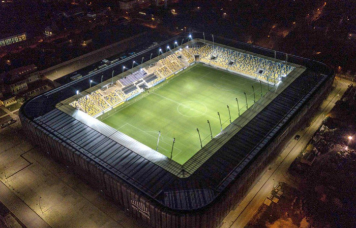 A MOL Aréna jelölve az Év stadionja címre!