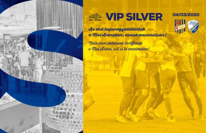 VIP Silver menü a DAC-Poprád kupamérkőzésre