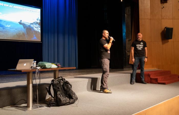 A nagy kihívás nagy élményét osztotta meg a közönséggel Camino Steve