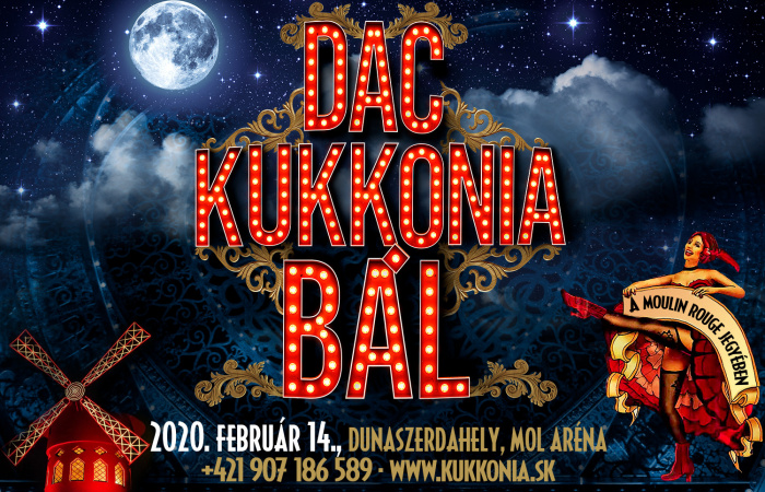 DAC–Kukkonia Bál: A Moulin Rouge világa vár!