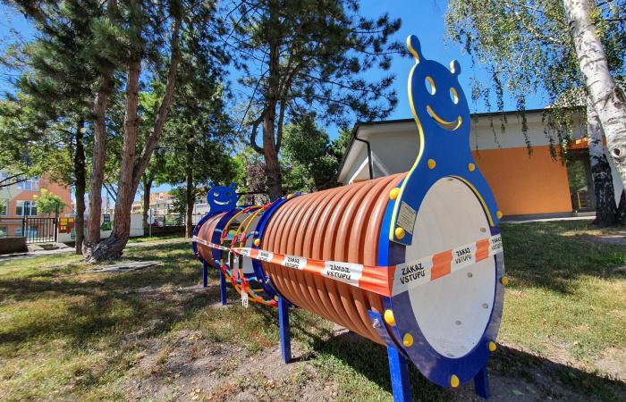 40 ezer euróból újultak meg az ovis játszóterek