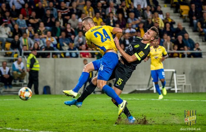 A DAC-Zsolna mérkőzés előtt: a szezon utolsó hazai találkozója