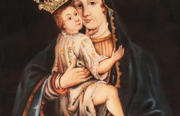 A Könnyező Szűzanya búcsúja Bacsfa-Szentantalon