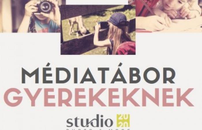 Médiatábor gyerekeknek  - Fotó - videó - újságírás