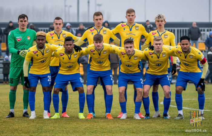 Téli Tipsport Liga: DAC 1904 - FC Zbrojovka Brno 0:5 (0:2)