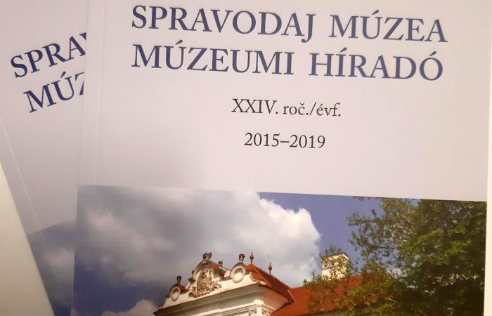 Spravodaj Múzea – Múzeumi Híradó 2015-2019