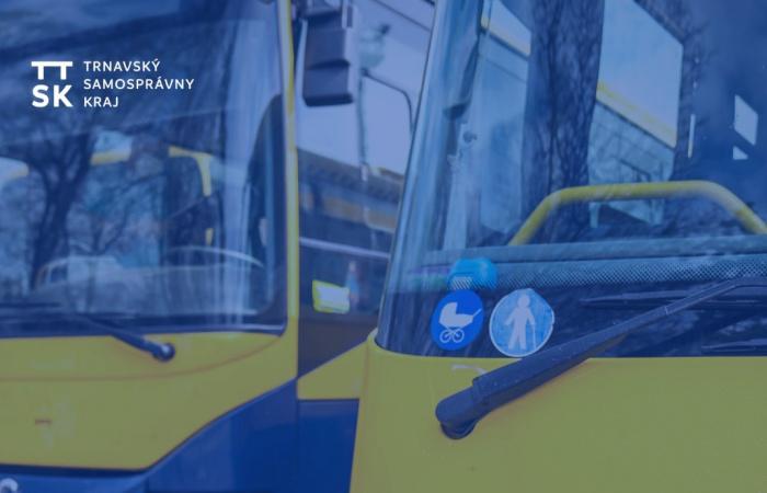 Nagyszombat megyében az autóbuszok a tanítási szünetekben érvényes menetrend szerint közlekednek