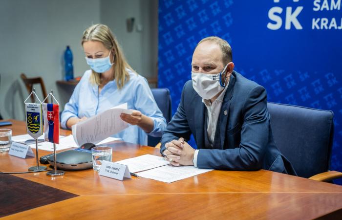 Nagyszombat megye elnöke az alsó-ausztriai kollégájával tárgyalt