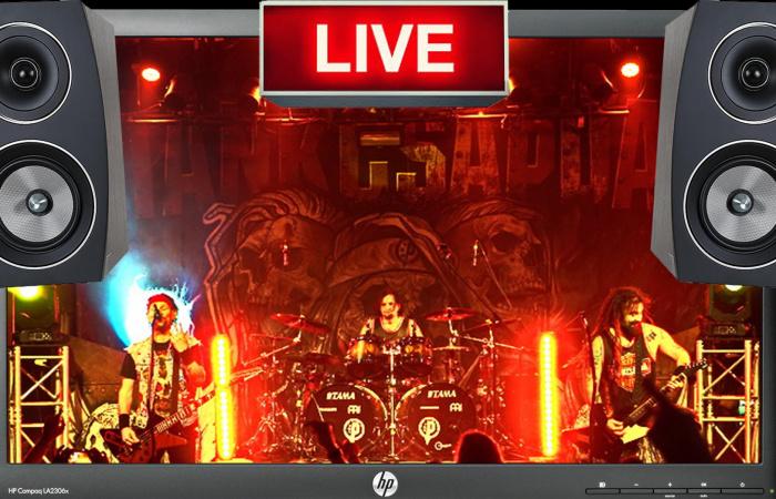 Online koncertet ad a Tankcsapda!